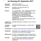 Herbstfest-Lauf 2017 Ausschreibung